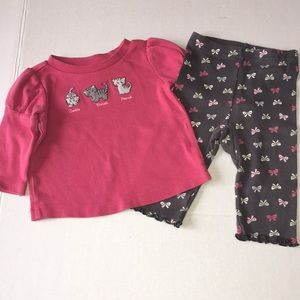 Gymboree kitten outfit size 3-6 months